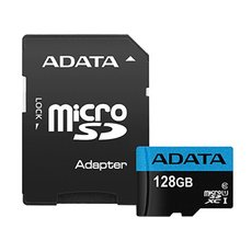 SD CARD 128GB Adata Mikro SD s adaptérom